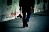alone walking